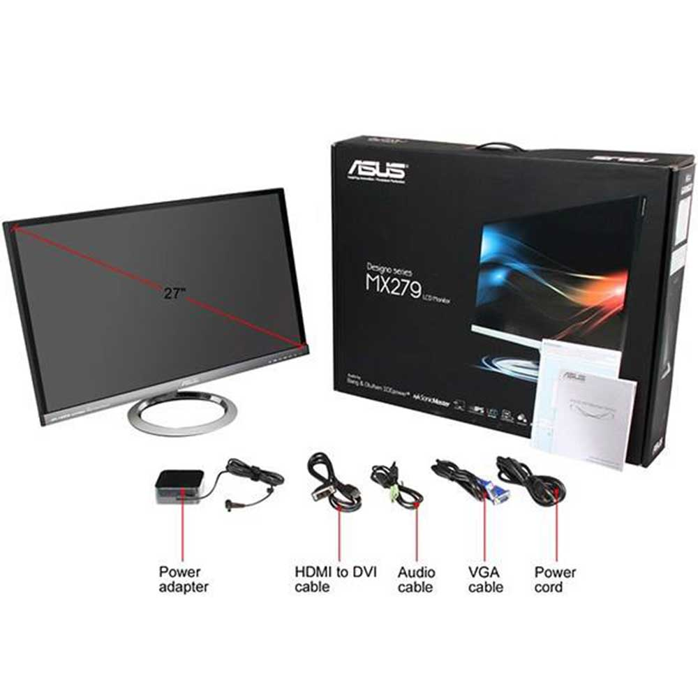 ASUS MX279HE Monitor 27 Inch