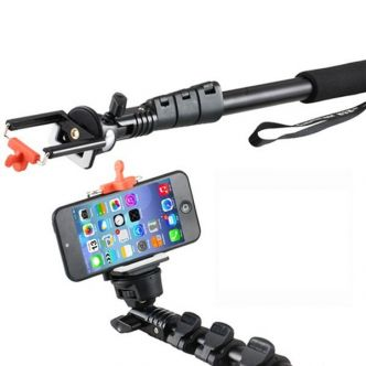 Yunteng C188 Monopod with Bluetooth Remote Shutter