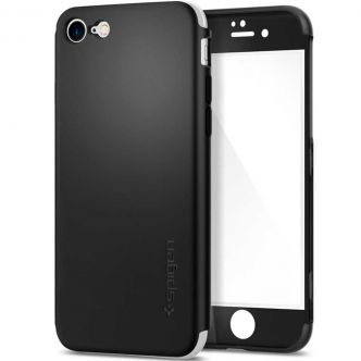 Spigen Air Fit 360 Cover And Screen Protector For Apple iPhone 7
