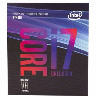 Intel Coffee Lake Core i7-8700K CPU With Box Orginal