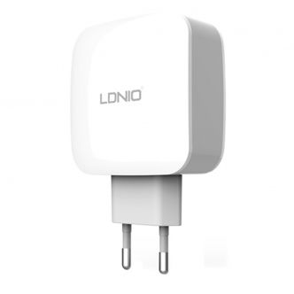 LDNIO DL-AC70 3.4A Triple USB Charger With microUSB Cable
