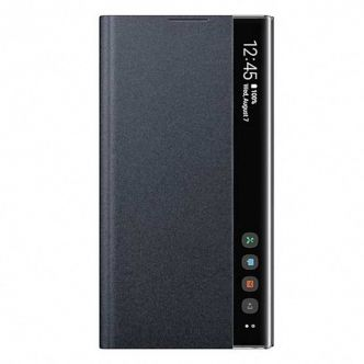 Clear View Standing Cover For Samsung Galaxy Note 10 Plus