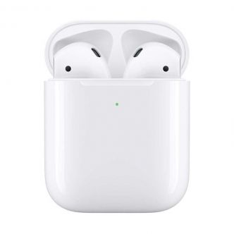 Apple AirPods 2 MRXJ2  Wireless Headphones  With Wireless Charging Case