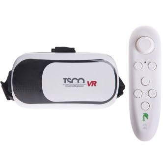 TSCO TVR 566 Virtual Reality Headset With Remote Control