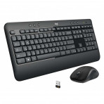 Logitech MK540 Wireless Desktop Keyboard and Mouse With Persian letters
