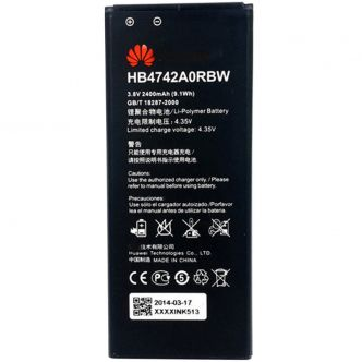 HUAWEI HB4742A0RBW 2400 mAh Cell Phone Battery For HUAWEI 3C