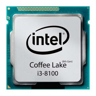 Intel Coffee Lake Core i3-8100 CPU Tray