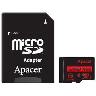 Apacer Class 10 85MBps microSDXC With Adapter - 128GB