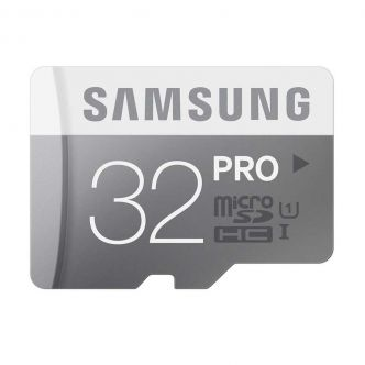 Samsung Class 10 Pro 90MBps microSDHC with SD - 32GB