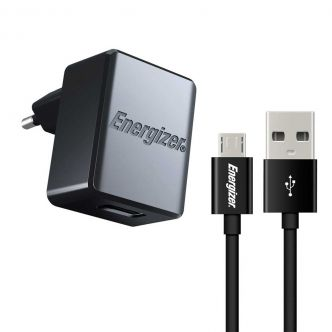 Energizer ACA1AEUCMC3 wall charger with Micro Usb cable