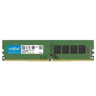 Crucial DDR4 2666MHz model CL19 Desktop RAM - 4GB