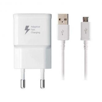 EP-TA20EWE wall charger model with microUSB conversion cable