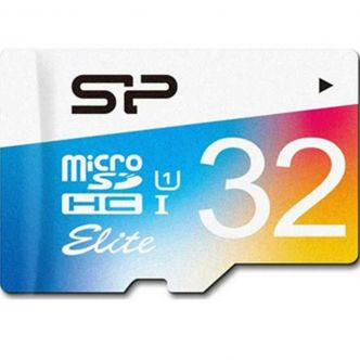 Silicon Power Color Elite Class 10 85MBps microSDHC Without Adapter - 32GB