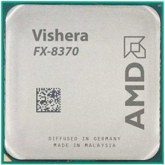 AMD Vishera FX-8370 CPU with AMD Wraith Cooler