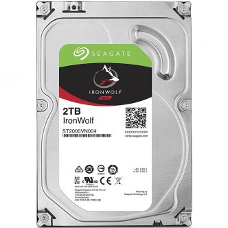 Seagate IronWolf Internal Hard Drive - 2TB