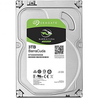 Seagate BarraCuda Internal Hard Drive - 3TB