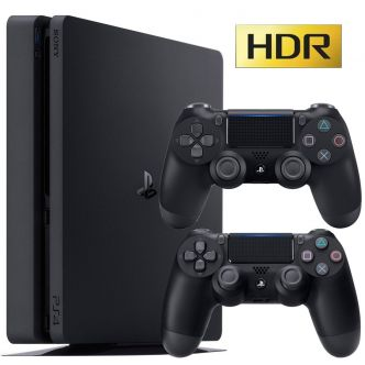Sony Playstation 4 Slim 2017 Region 2 CUH-2116B 1TB Bundle Game Console