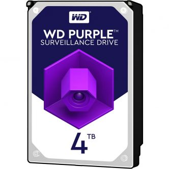 Western Digital Purple WD40PURZ Internal Hard Disk - 4TB