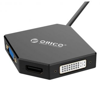 Orico DMP-HDV3 Mini DisplayPort To VGA/HDMI/DVI Converter
