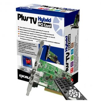 Kworld Plus TV Hybrid PCI Card