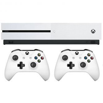 Microsoft Xbox One S - 1TB Game Console With Bundle Game 2Controller