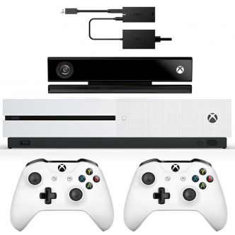 Microsoft Xbox One S - 1TB Bundle Game Console With Kinect