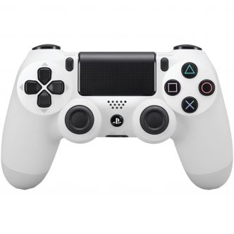 Sony DualShock 4 White Wireless Controller