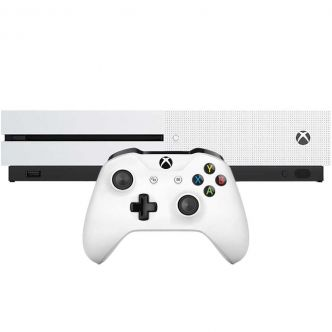 Microsoft Xbox One S - 1TB Game Console With Bundle Game 1Controller